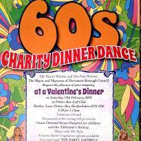 60s Charity Dinner Dance Feb 13th 2016