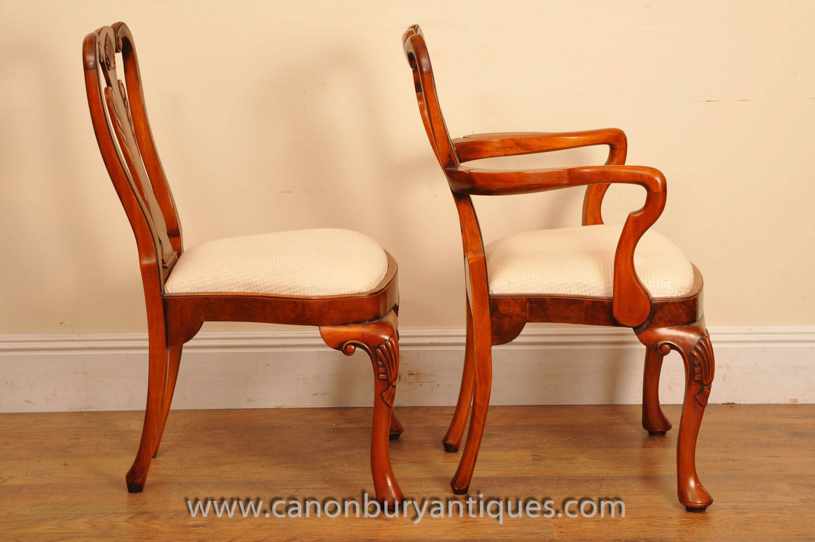 Large range of antique dining chairs