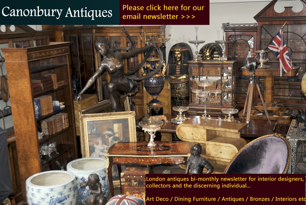 Sign up for the Canonbury Antiques email newsletter