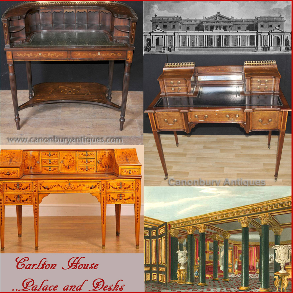 Marvelous Carlton House Desks And The Lost London Palace