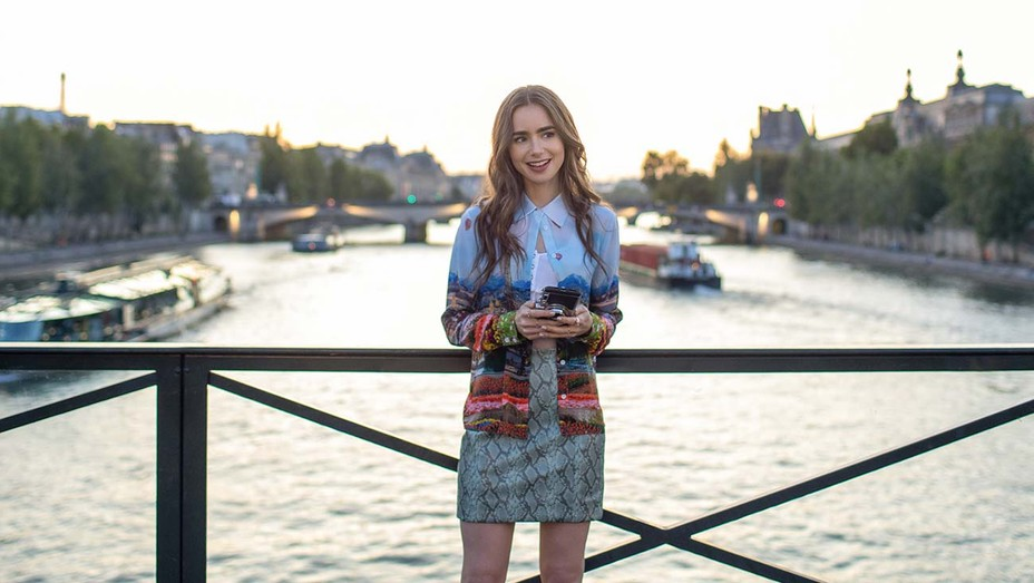 Lilly Collins is excellent as the lead in Emily In Paris on Netflix