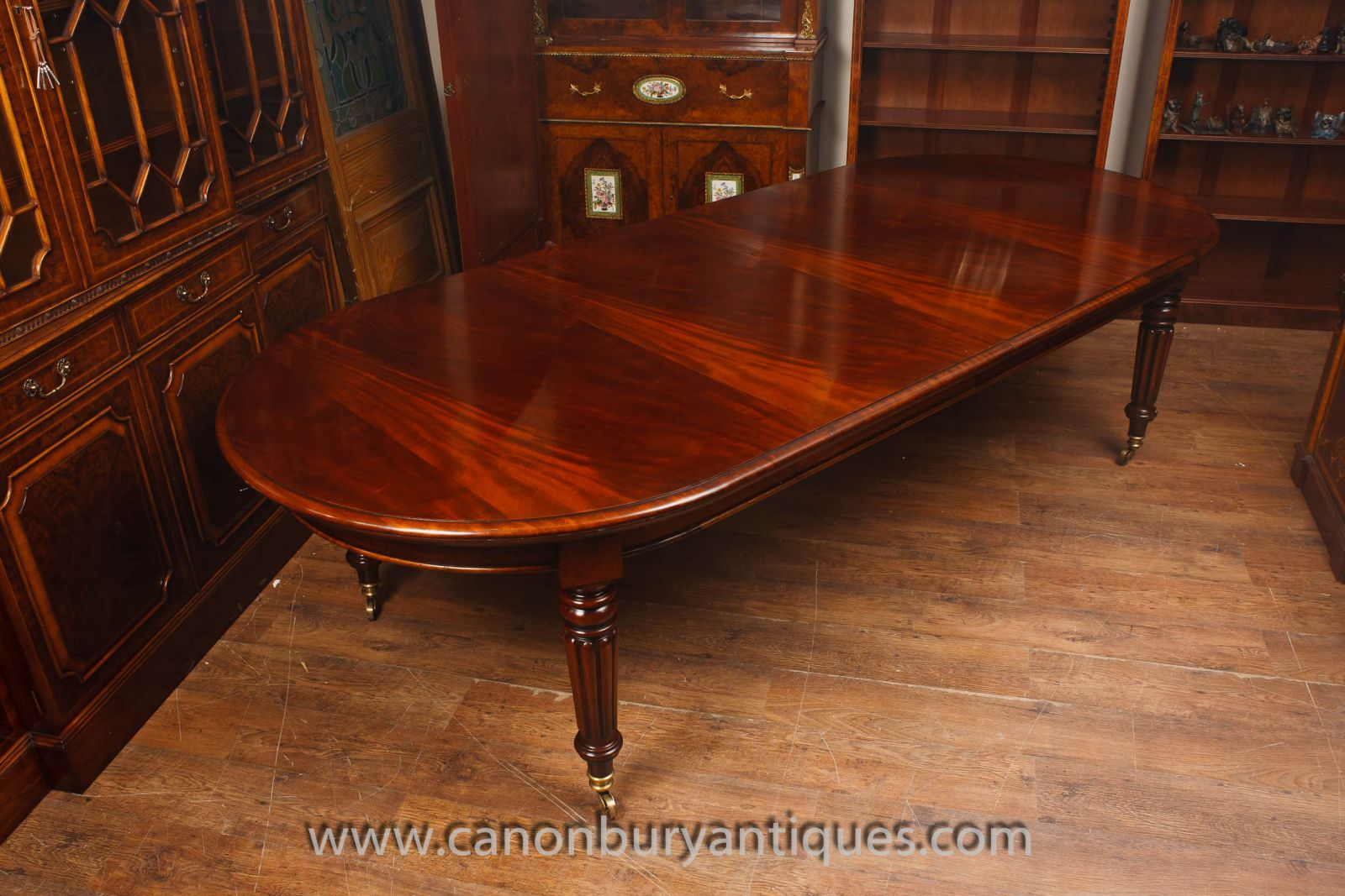 Victorian Dining Tables Mahogany Walnut Extending Table Canonbury Antiques