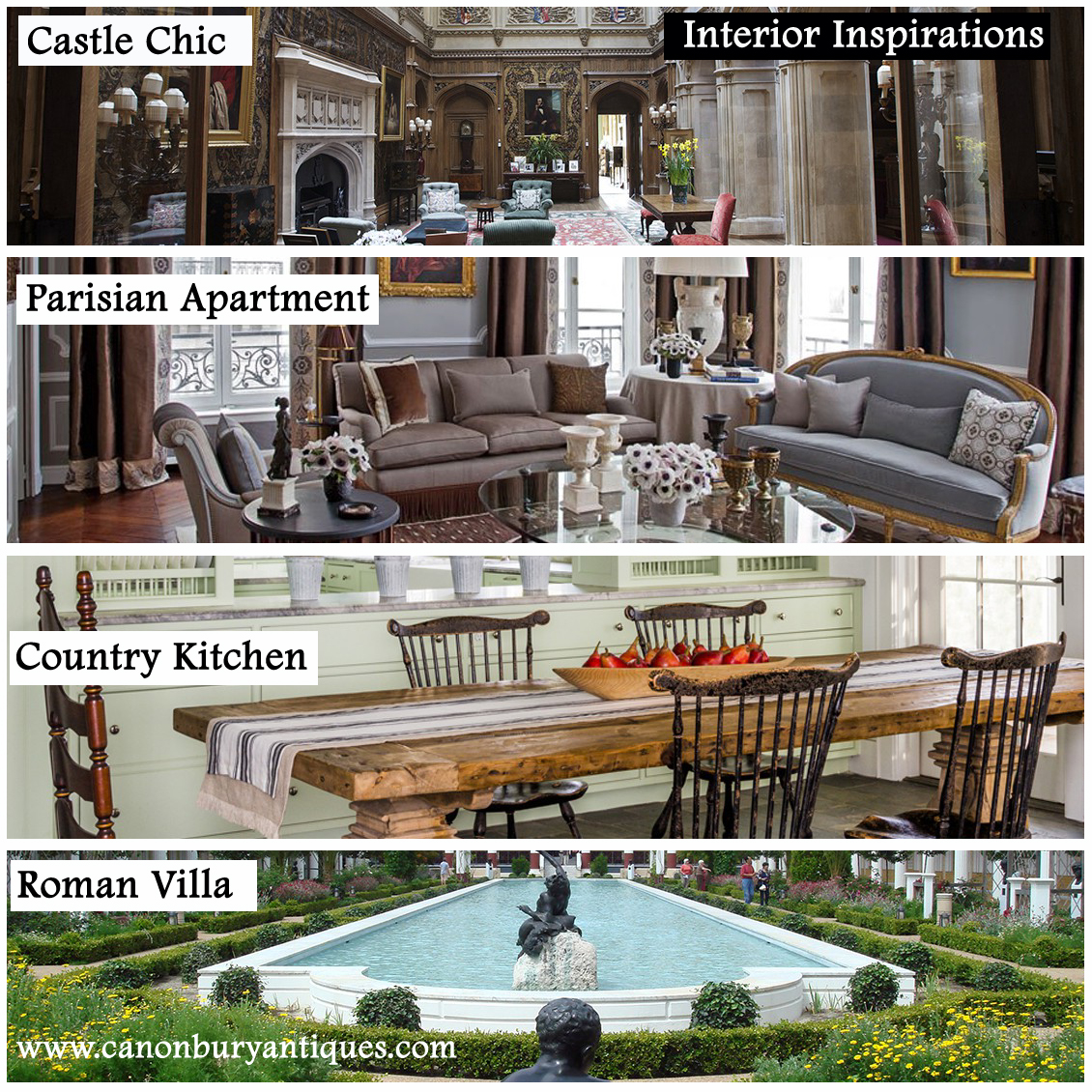 Shop by Interior Inspiration - room, style or look.