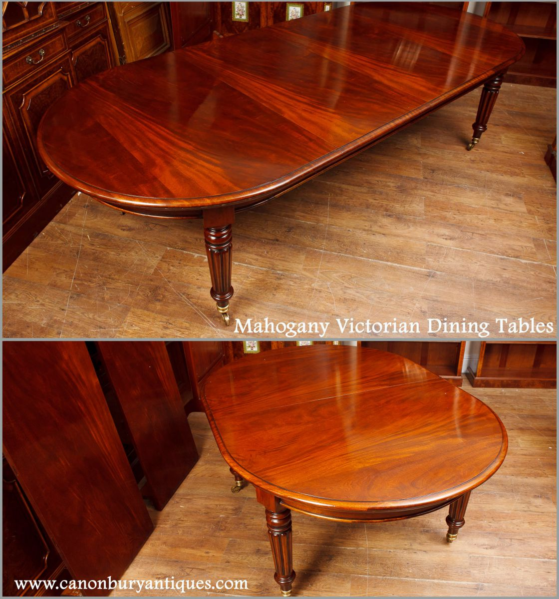Large Victorian Dining Room: Mahogany Victorian Dining Tables