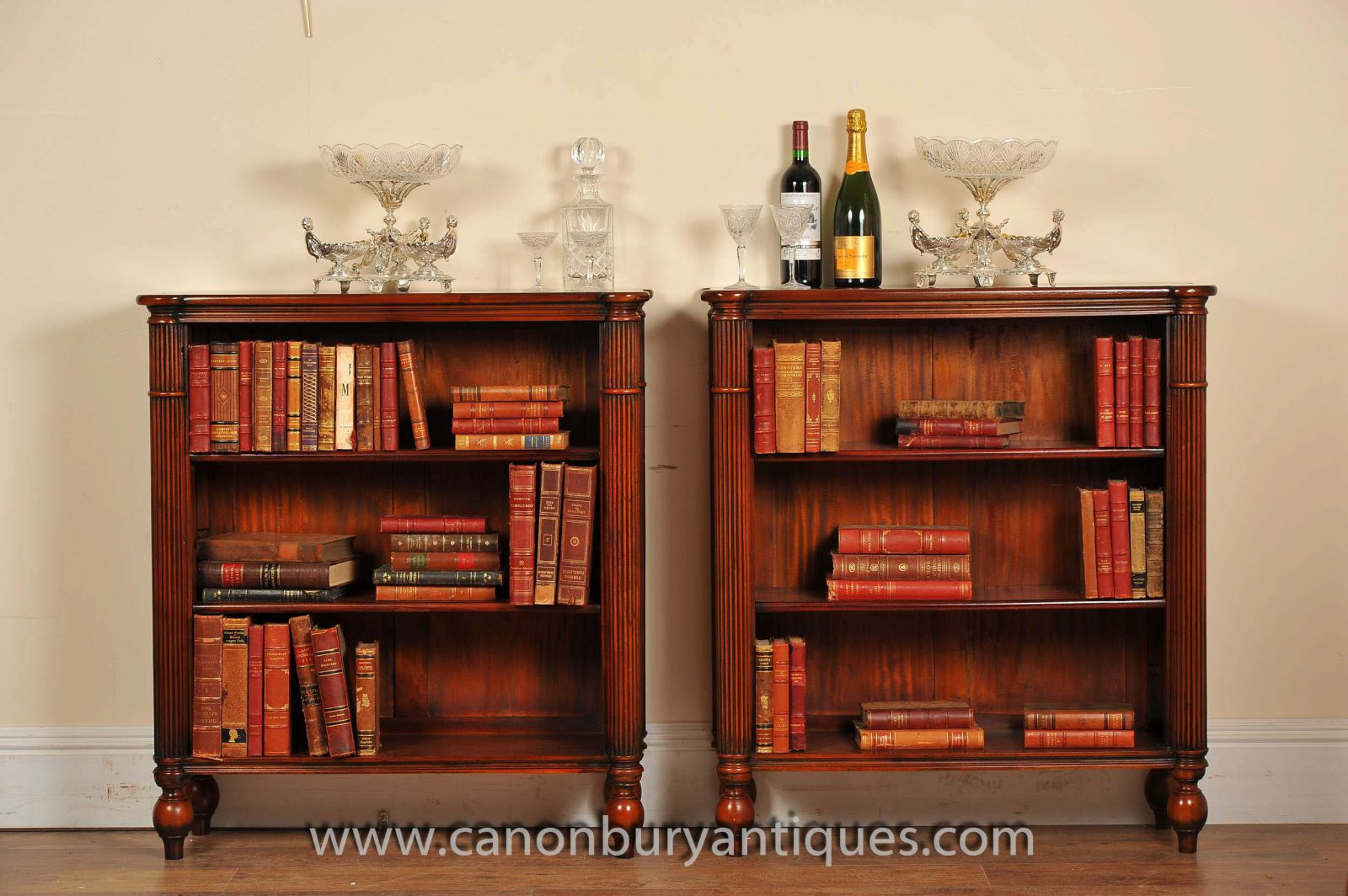 Low Open Front Bookcases