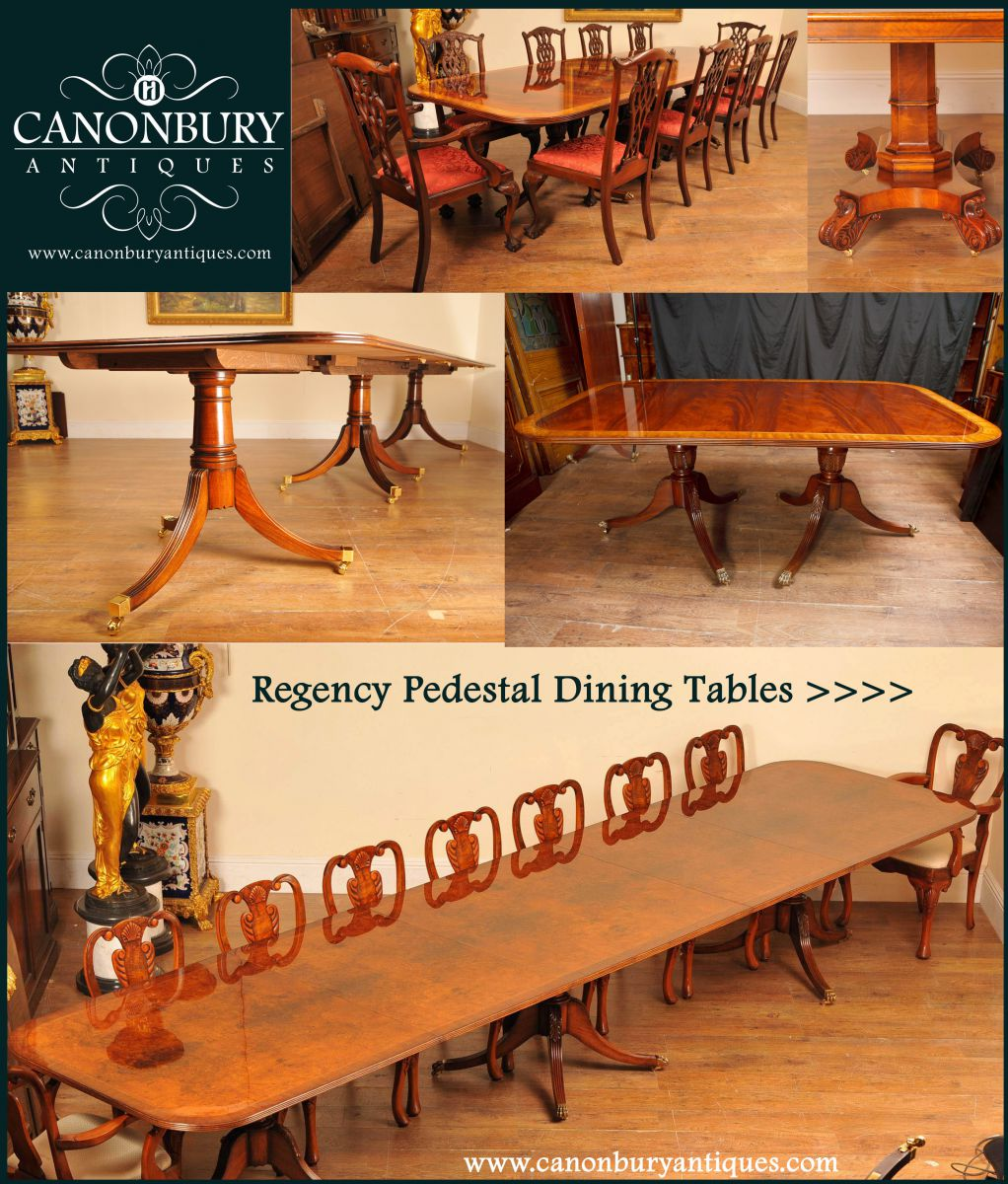 Dining sets and furniture for a Regency era costume drama ?