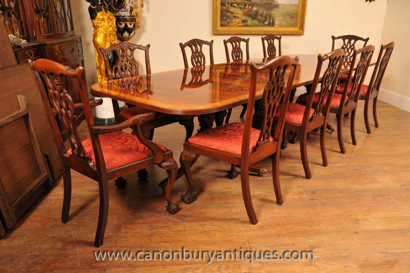 Chippendale Dining Room Table Dining Cintra Extension Dining Table Dining Dining Room Table