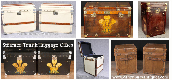 Steamer Trunk Tables