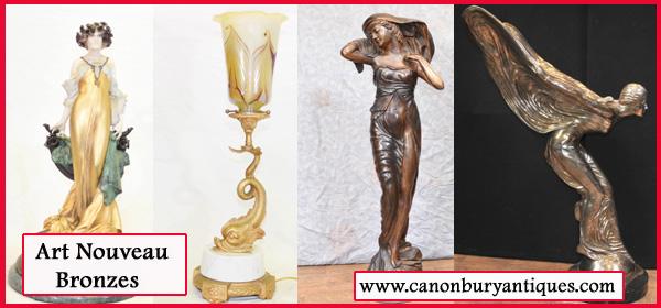 Art Nouveau Bronzes