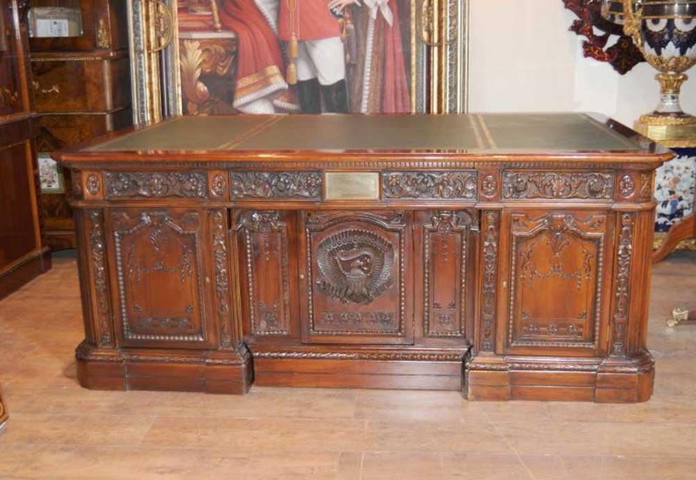 back shot of Restolute desk