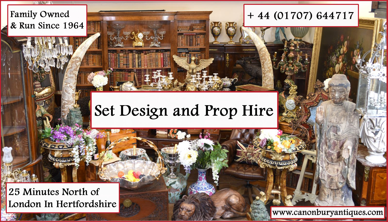 Herfordshire Prop Hire and Set design services