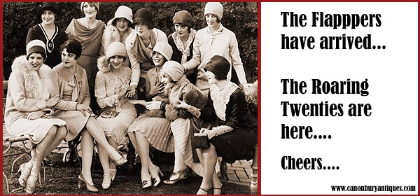 Flappers having a swell time relieved to have survived the 1918 Spanish Flu