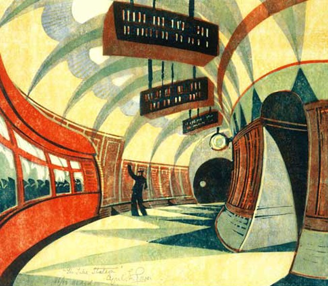 Cyril Powers - The Tube Station