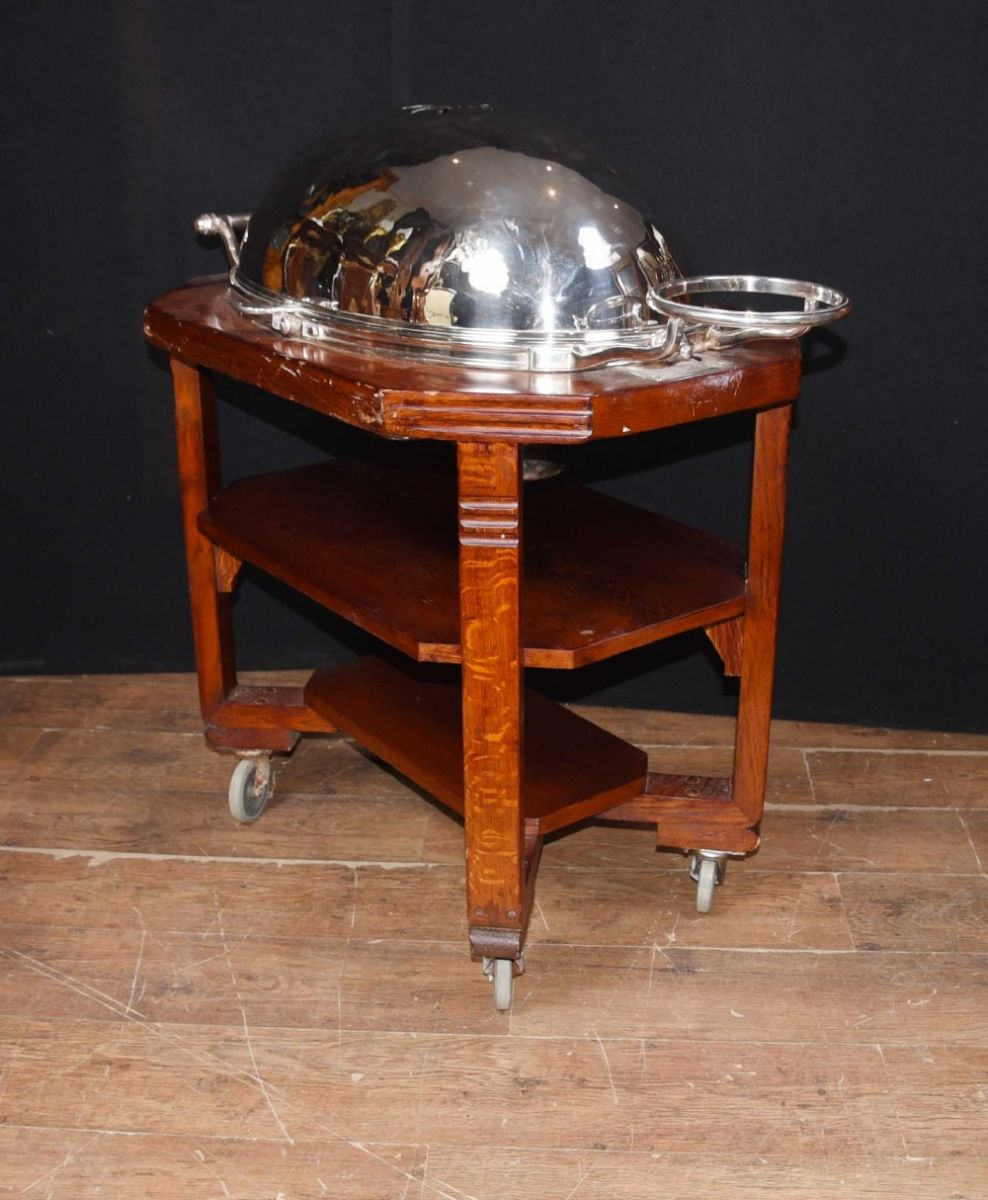 Antique beef server perfect for hotel or restaurant
