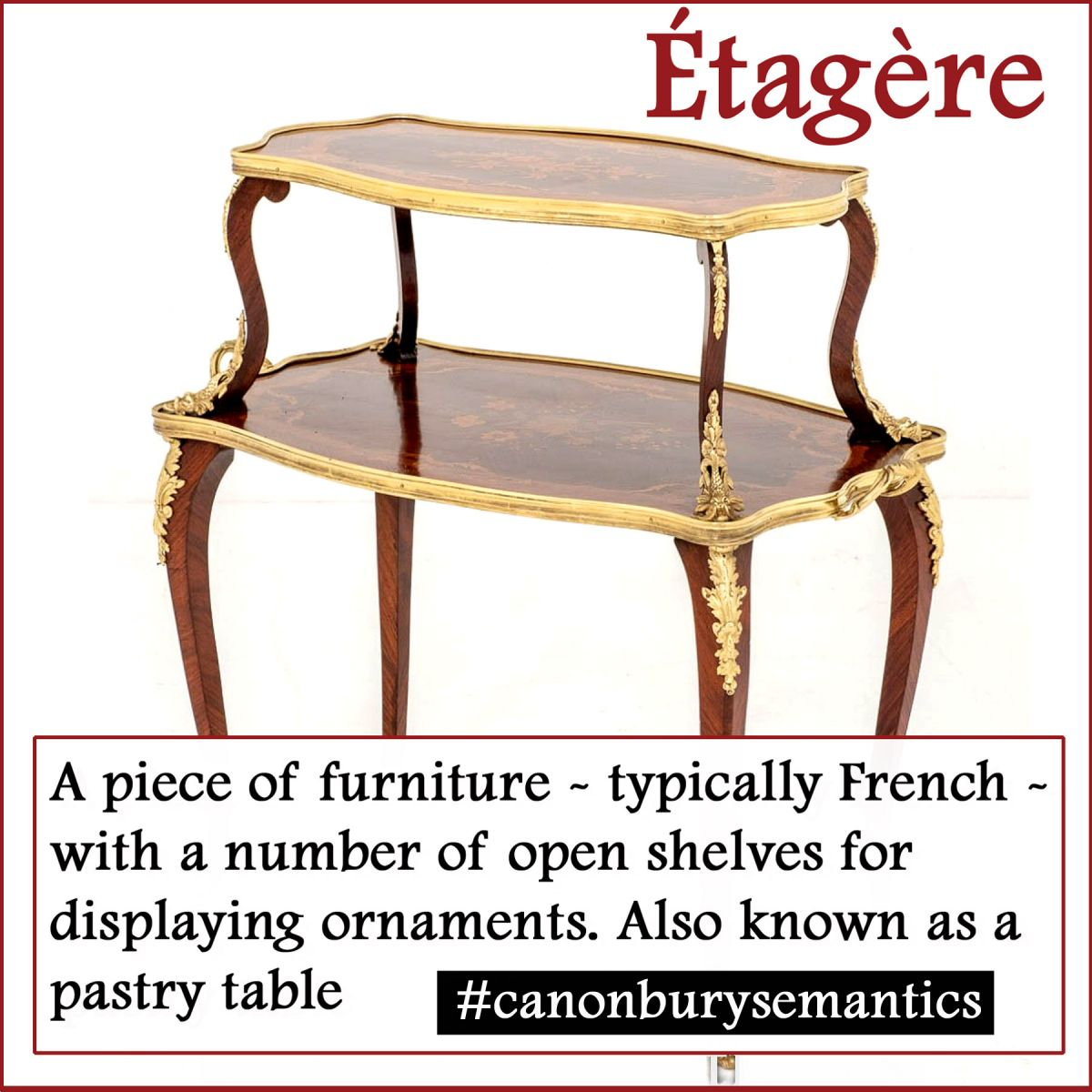 Etagere Table