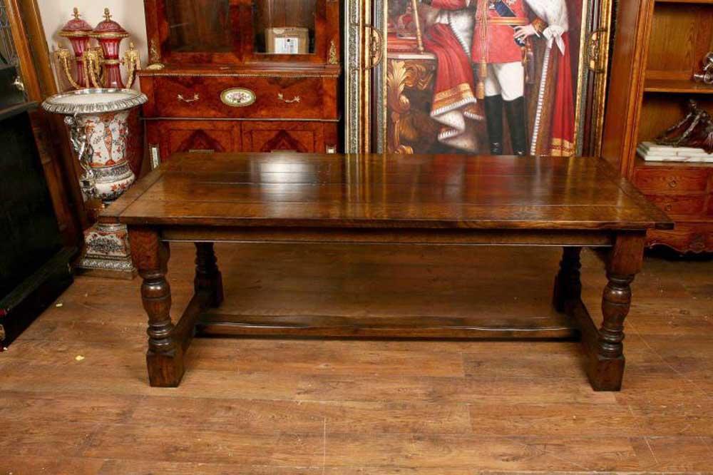 Refectory Tables Oak Farmhouse Kitchen Tables Canonbury Antiques