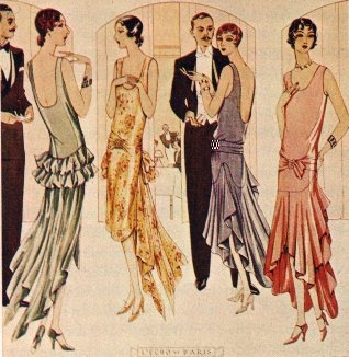 A right bunch of Flappers! Where's the champagne and jazz records?