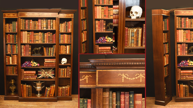 Regency Breakfront Bookcases