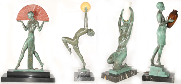 Max Leverrier Bronzes