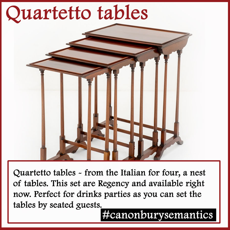Quartetto Tables