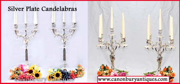 Silver Plate candelabras