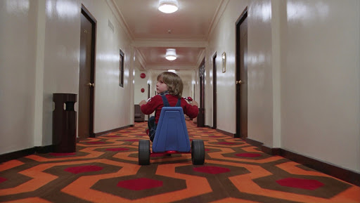The corridor in Stanley Kubrick s The Shining