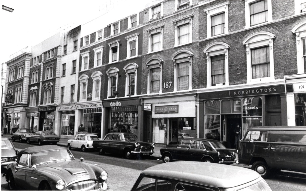 Westbourne Grove in the 1970s