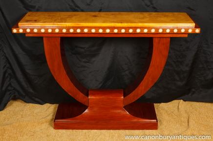Art Deco Console Table - 1920s Hall Tables Interiors Furniture