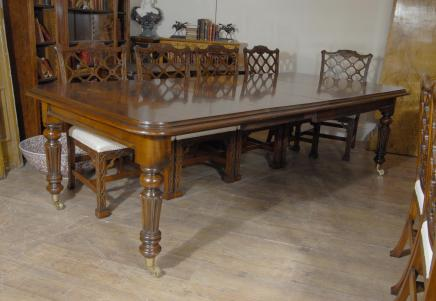 Victorian Dining Table in Mahogany - 9ft 279 CM Tables
