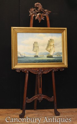 American Oil Painting US Seascape Maritime Scene