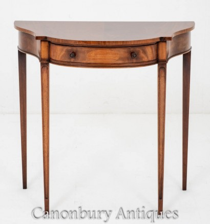 Antique Console Table - Mahogany Circa 1920