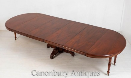 Antique Dining Table - French Extending Tables 1870