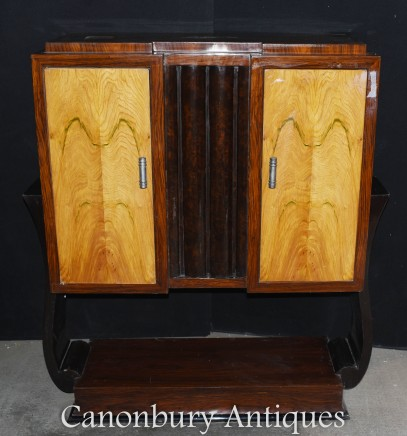 Art Deco Cocktail Cabinet - Drinks Chest