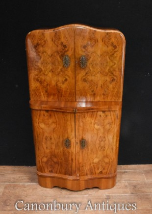 Art Deco Cocktail Cabinet Circa 1920 Drinks Chest
