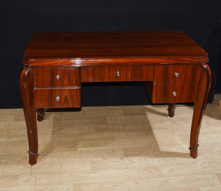 Art Deco Desk Bureau Plat - Home Office Interiors