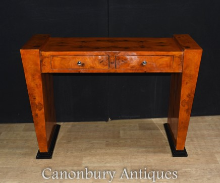 Art Deco Desk Writing Table - Vintage Interiors