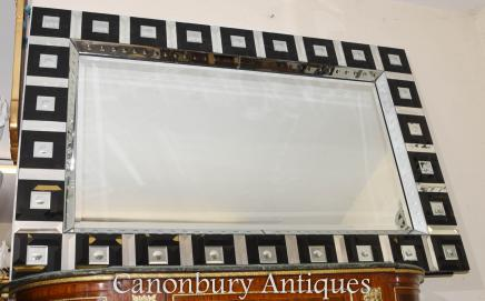 Art Deco Glass Pier Mirror Interiors Glass