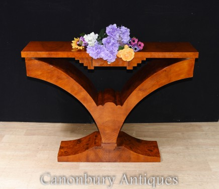 Art Deco Hall Table - 1920s Furniture Console Tables