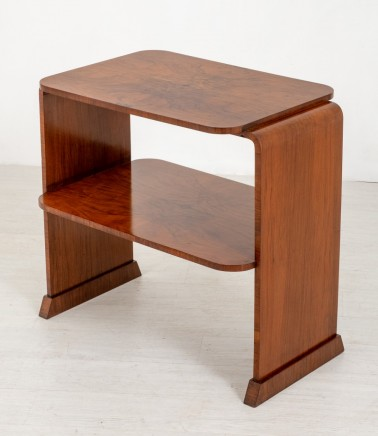 Art Deco Side Table - Period 1930s Interiors