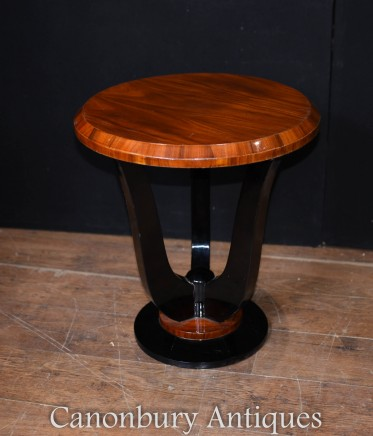 Art Deco Side Table - Rosewood Interiors