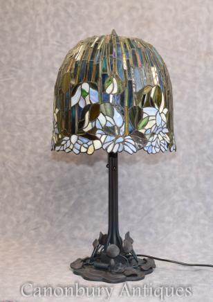 Art Nouveau Tiffany Lamp Table Light