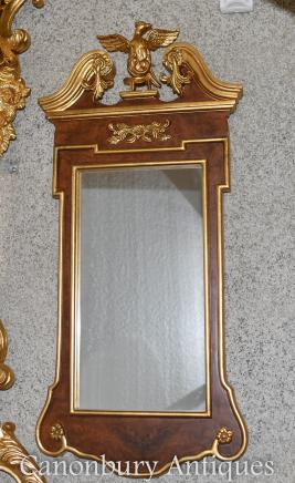 Empire Pier Mirror Federal Eagle Gilt Frame