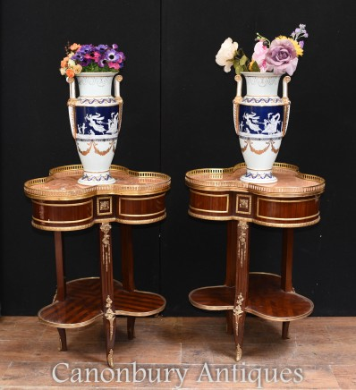 Empire Side Tables - French Clover Occassional Table