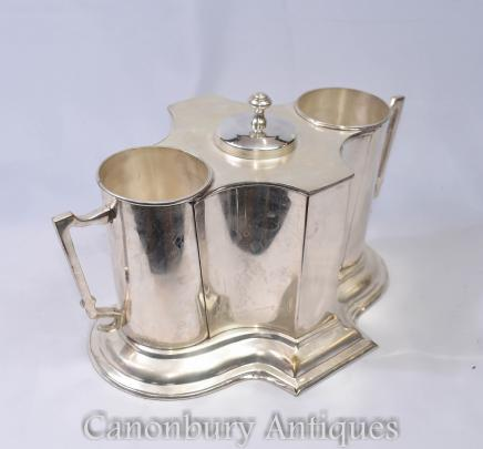 Silver Plate Wine Coolers Champagne Buckets Canonbury