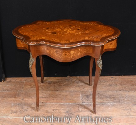 French Antique Desk Writing Table - Rococo Furniture