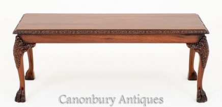 Mahogany Chippendale Coffee Table