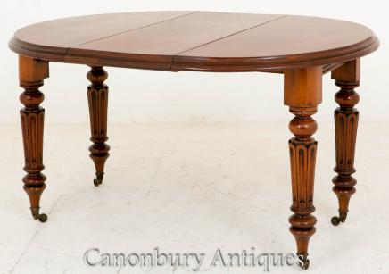 Mid Victorian Extending Dining Table Diners 1860