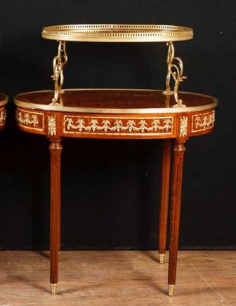French Empire Side Table - Etagere Tiered Table