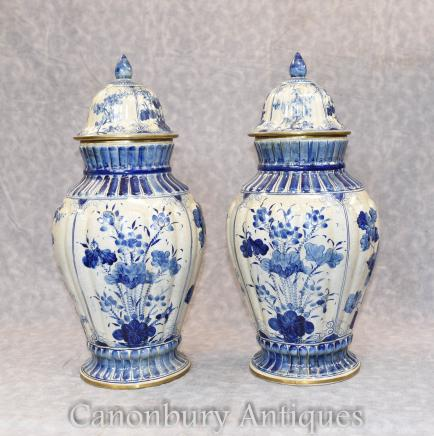 Blue And White Porcelain Nanking Kangxi Chines
