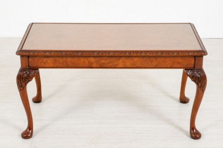 Queen Anne Coffee Table - Walnut Furniture